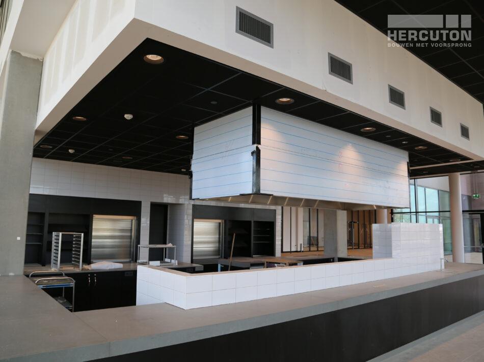 Nieuwbouw distributiecentrum Wehkamp Zwolle - kantoor