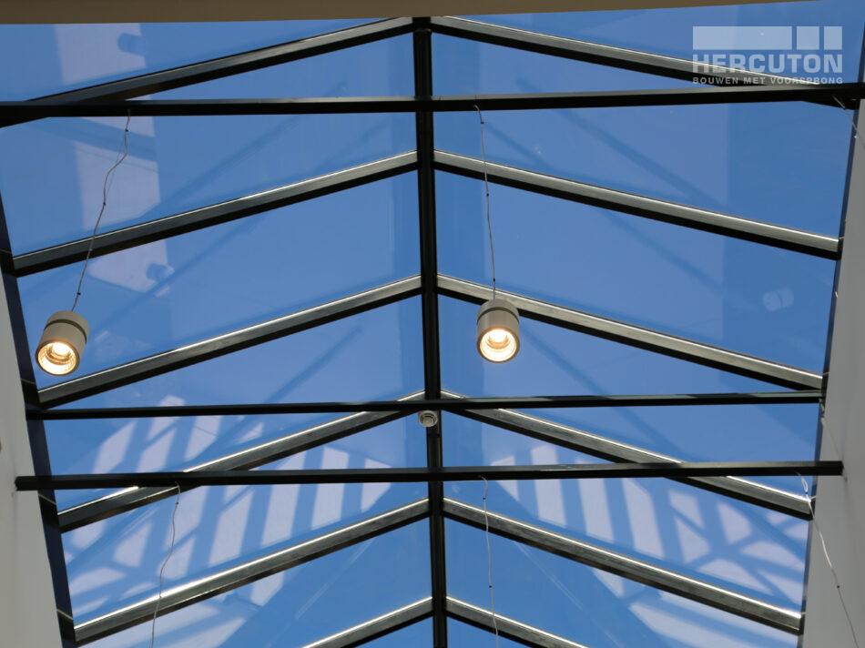 Nieuwbouw distributiecentrum Wehkamp Zwolle - lichtstraat
