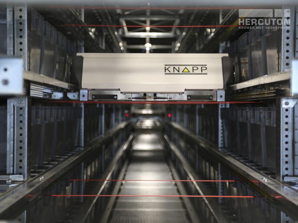 Nieuwbouw distributiecentrum Wehkamp Zwolle - sorteercentrum