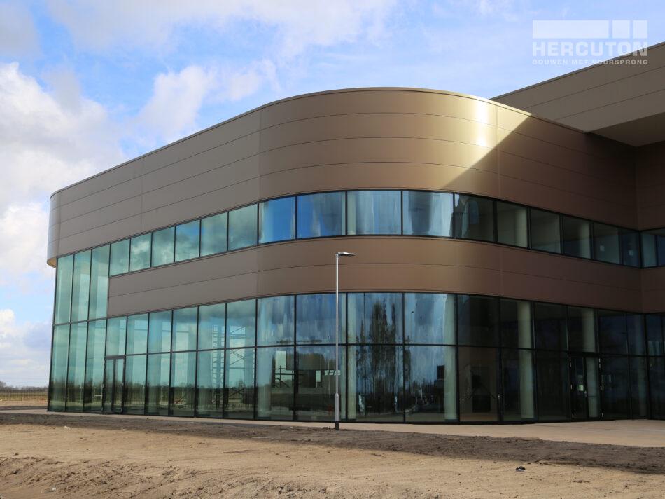 Nieuwbouw distributiecentrum Wehkamp Zwolle - gevel