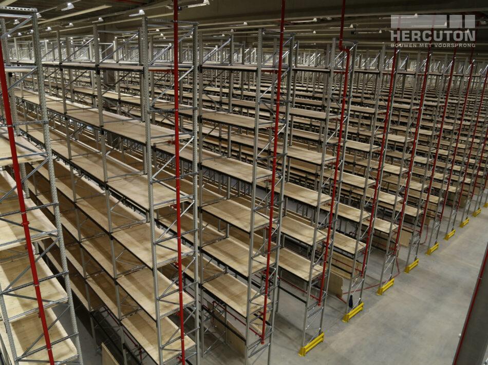 Nieuwbouw distributiecentrum Wehkamp Zwolle - magazijn
