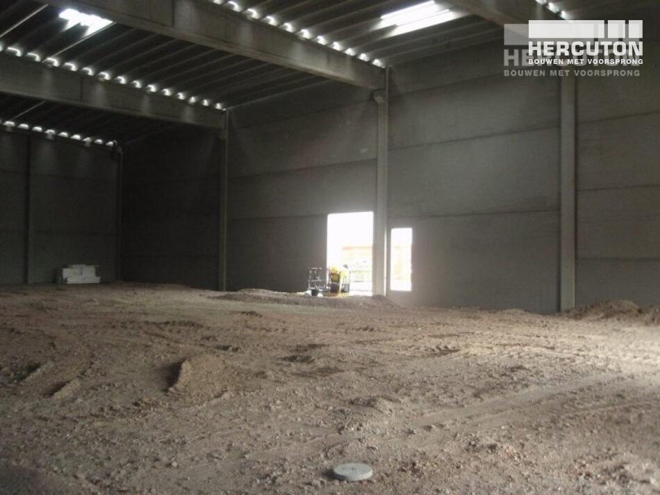 Nieuwbouw opslagruimte gevaarlijke stoffen Koninklijke Sanders door Hercuton b.v. uit Nieuwkuijk