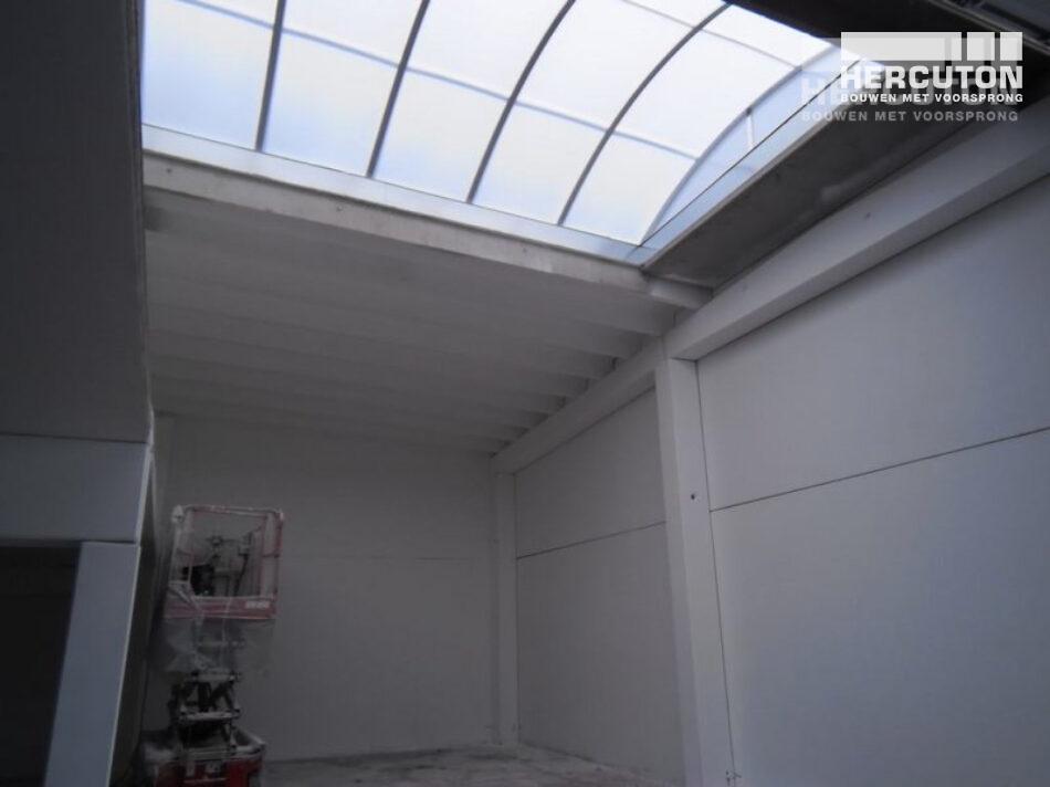 Nieuwbouw productieruimte DK Polyester