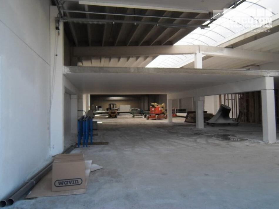Nieuwbouw productieruimte DK Polyester Hercuton b.v.