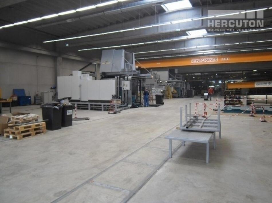 Productiehal Honeywell, Hercuton b.v. uit Nieuwkuijk