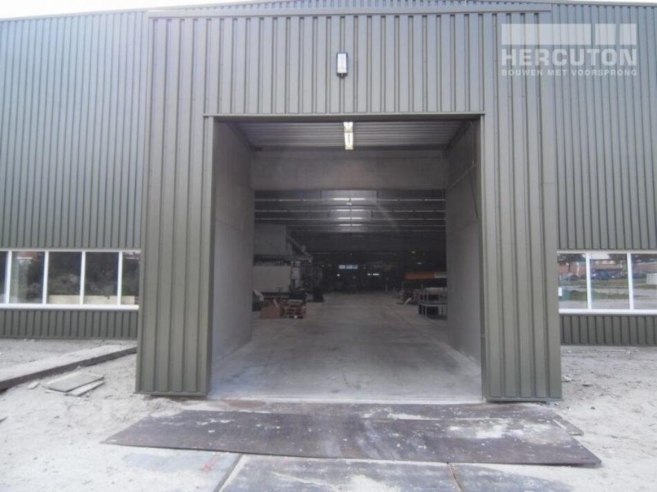 Nieuwbouw productiehal Honeywell, Hercuton b.v. uit Nieuwkuijk