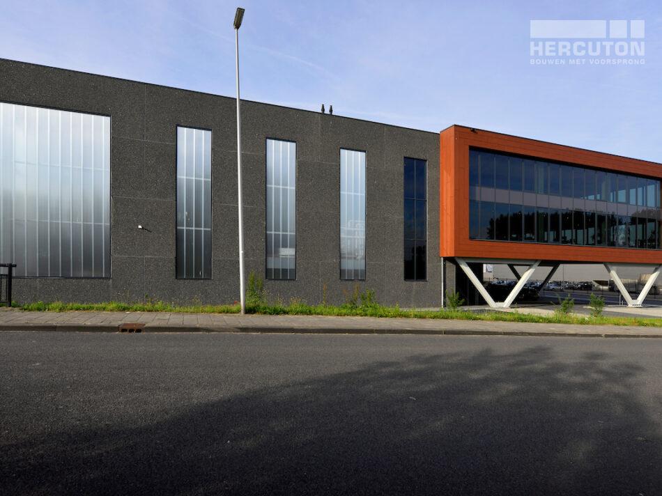 Bedrijfspand Hofa Bleiswijk - Voorgevel