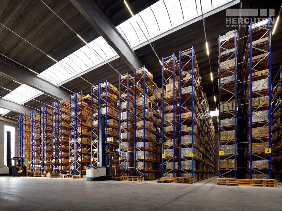 Bedrijfspand Hofa Bleiswijk - Magazijnruimte