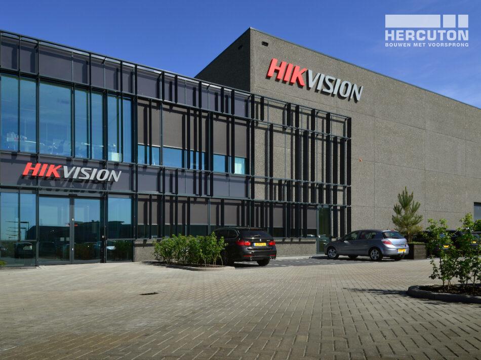 Hercuton realiseert nieuwbouw Europese hoofdkantoor Hikvision