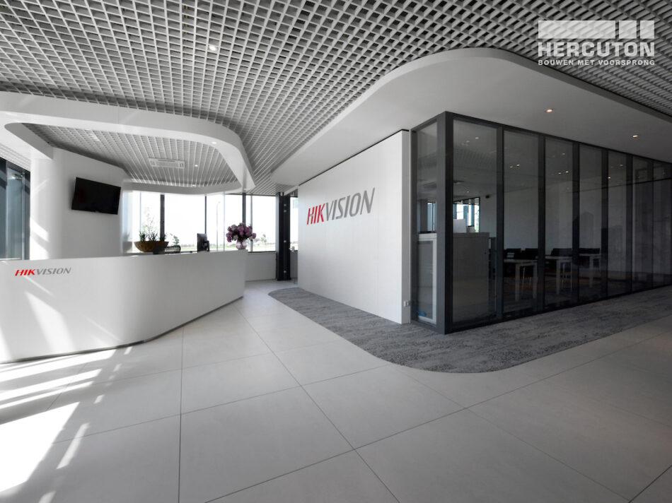 Nieuwbouw Europese hoofdkantoor Hikvision door Hercuton