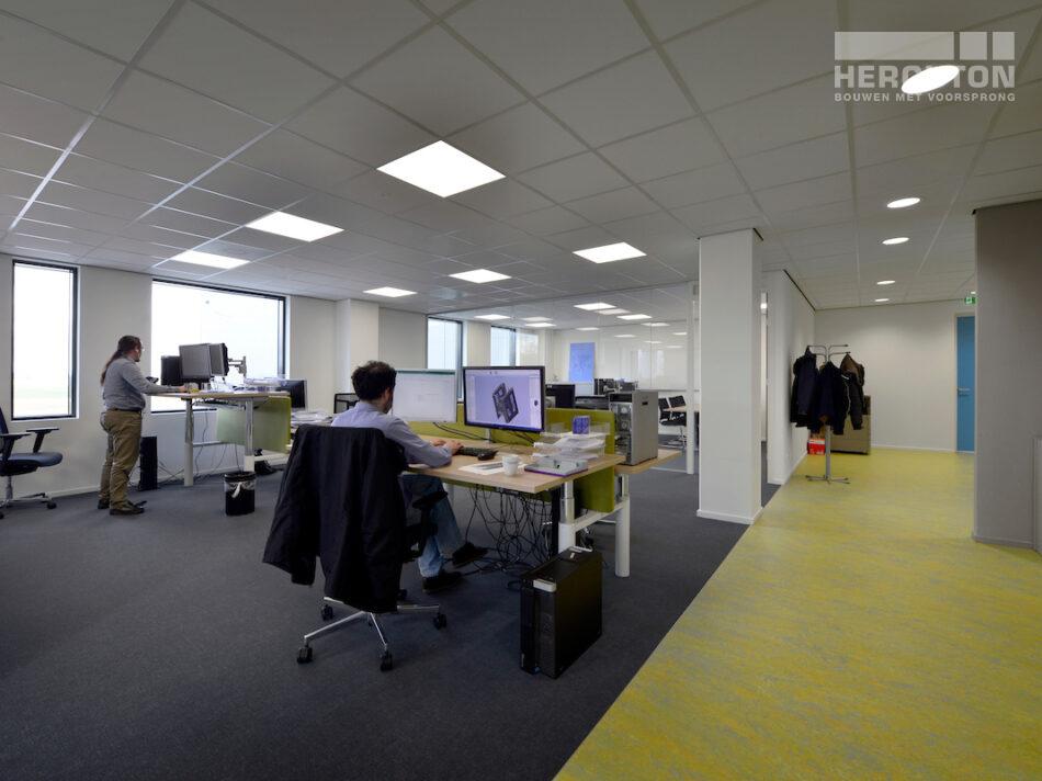 Nieuwbouw bedrijfspand Numafa Heinenoord - kantoorruimte