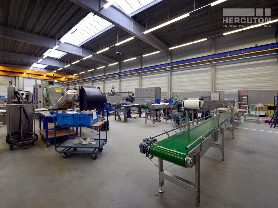 Nieuwbouw bedrijfspand Numafa Heinenoord - bedrijfsruimte