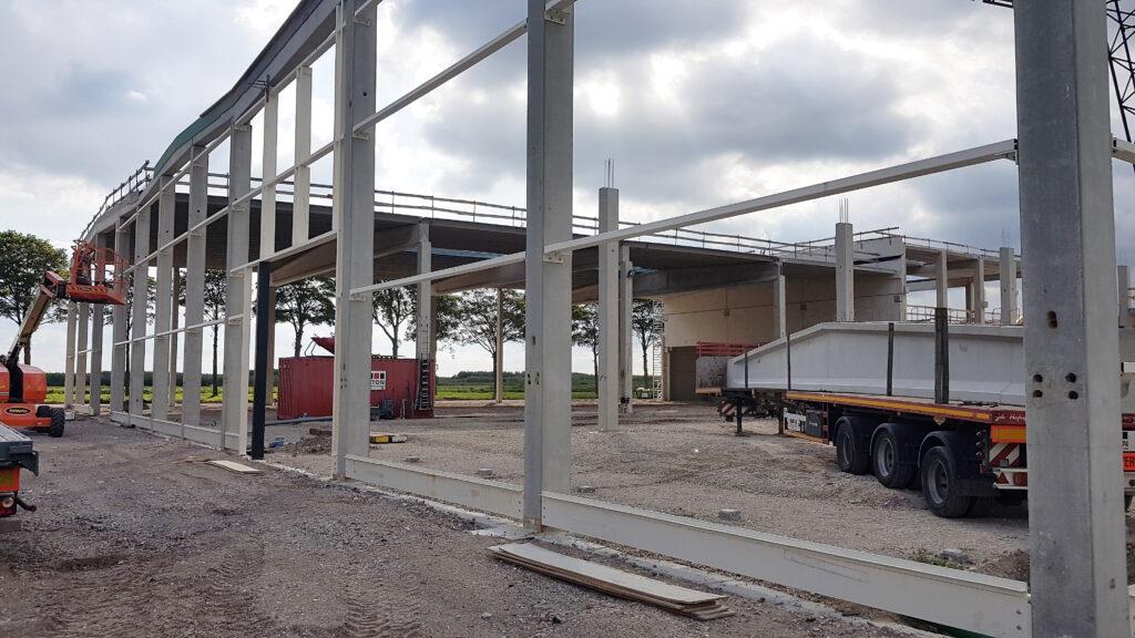 Hercuton realiseert nieuwbouw bedrijfsruimte met kantoor VDH Solar Hazerswoude-Dorp