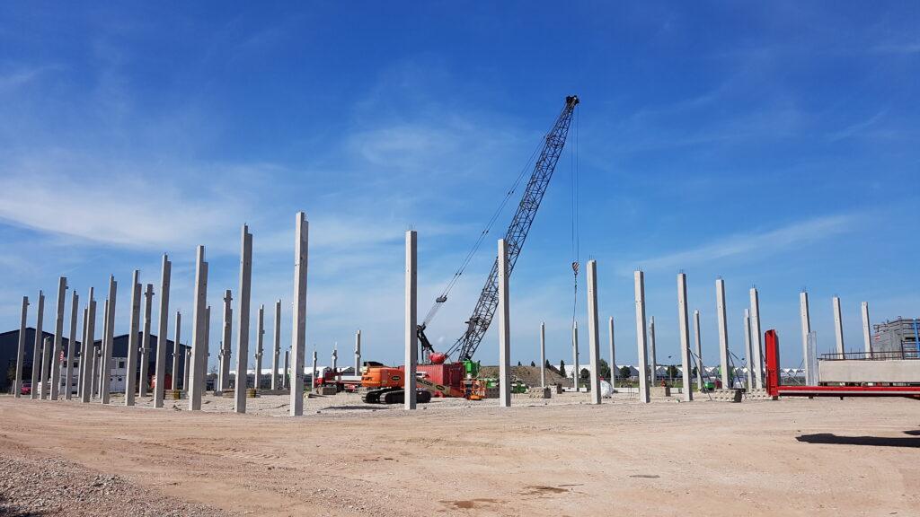 Hercuton bouwt nieuwbouw bedrijfsruimte met kantoor VDH Solar Hazerswoude-Dorp