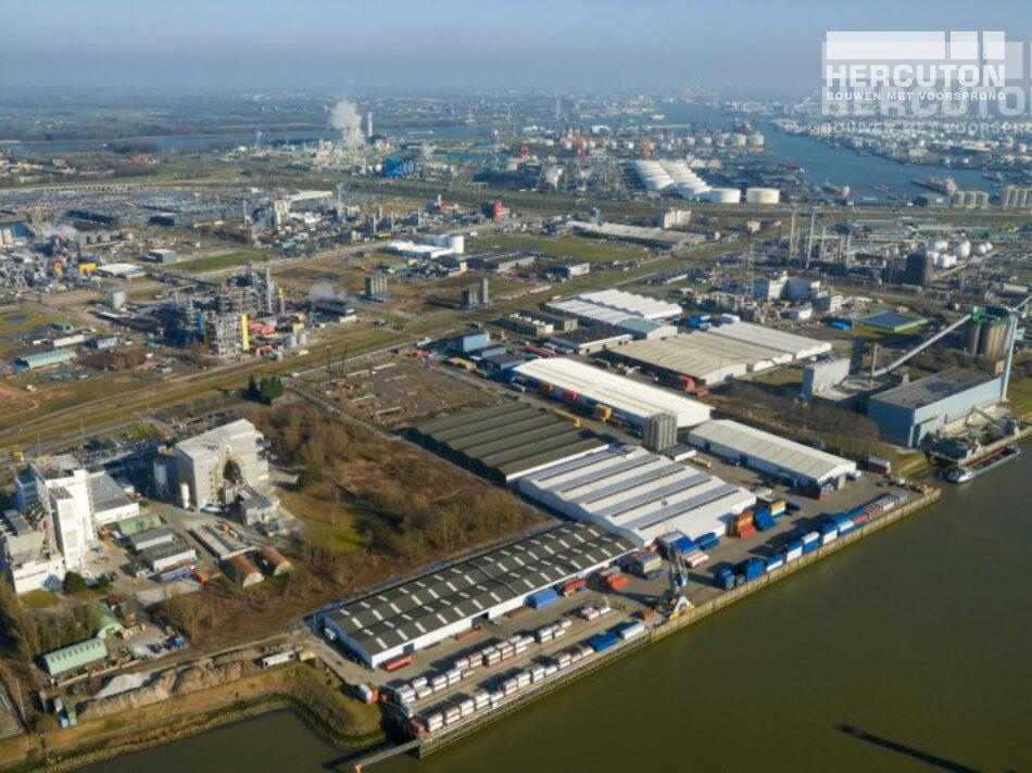 Nieuwbouw opslagruimte gevaarlijke stoffen PGS15, Rotterdam