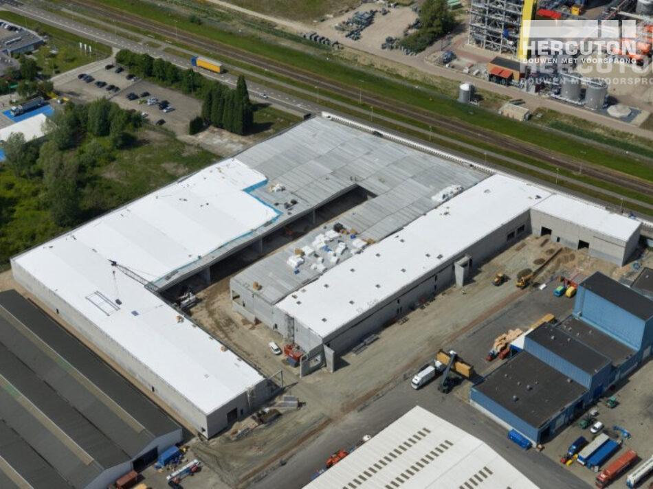 Opslagruimte gebouwd voor gevaarlijke stoffen in Rotterdam