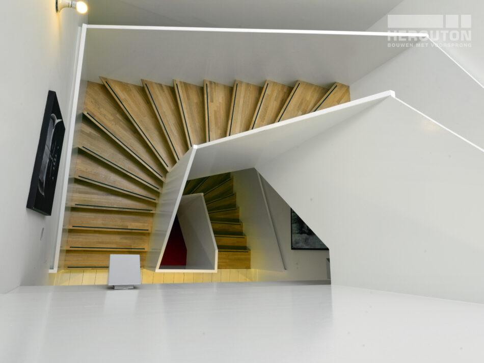 Interieur AV-huis gebouwd door Hercuton b.v.