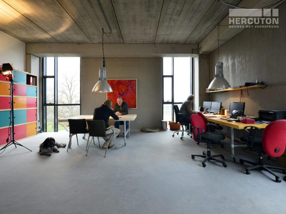 In dit karakteristieke loft gebouw werken meer dan vijftig Brabantse bedrijven samen aan beeld, geluid, animatie, games en multimedia.