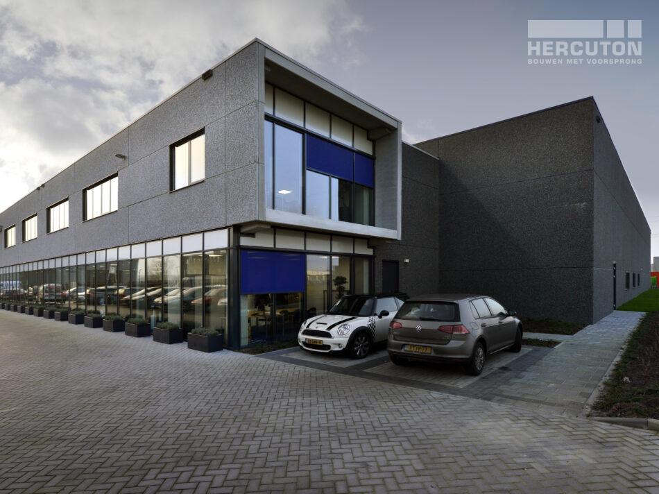 Nieuwbouw bedrijfspand kantoor