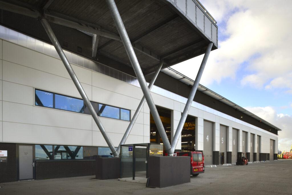 Bedrijfsruimte Cargotec nieuwbouw