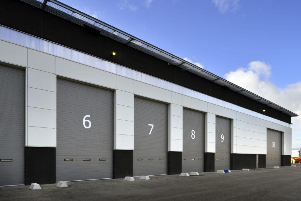 Bedrijfsruimte Cargotec nieuwbouw door Hercuton b.v.