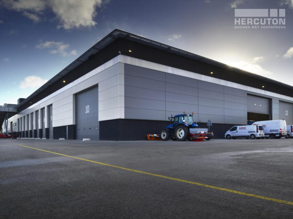 Bedrijfsruimte Cargotec nieuwbouw door Hercuton b.v. uit Nieuwkuijk