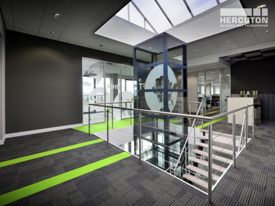 Nieuwbouw bedrijfshal met kantoor Celieplant / Bouquetnet door Hercuton b.v.