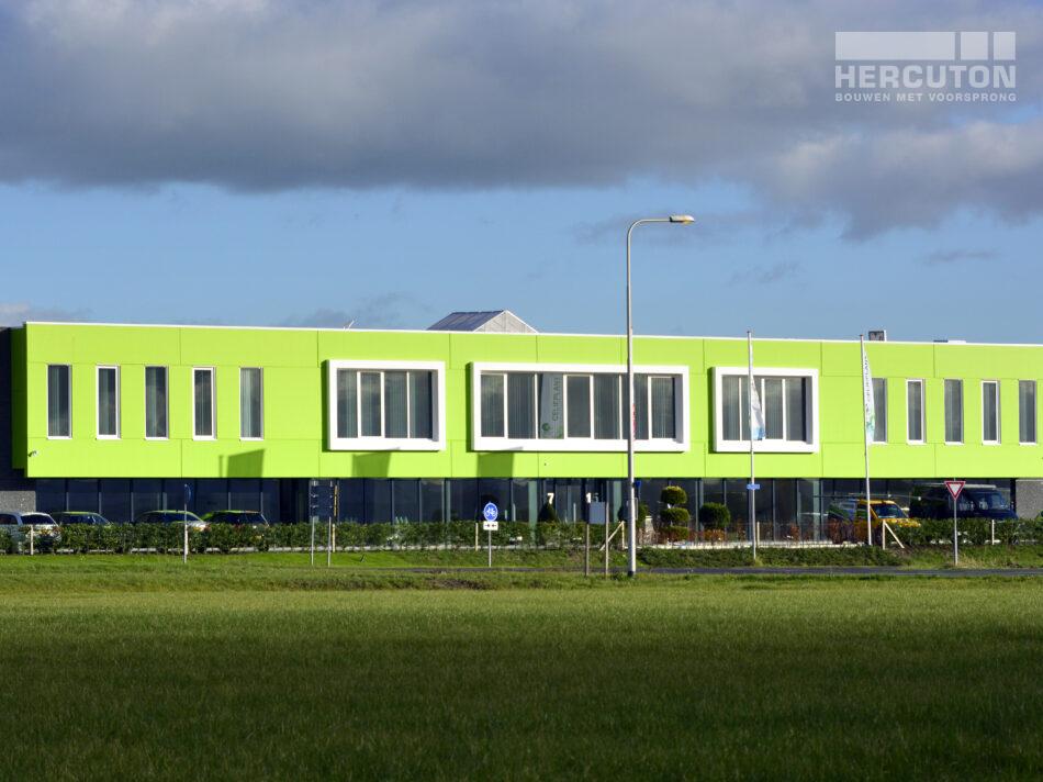 Hercuton bouwt bedrijfspand Celieplant/Bouquetnet