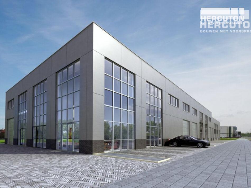 Nieuwbouw bedrijfsverzamelgebouw Clever in Den Haag.