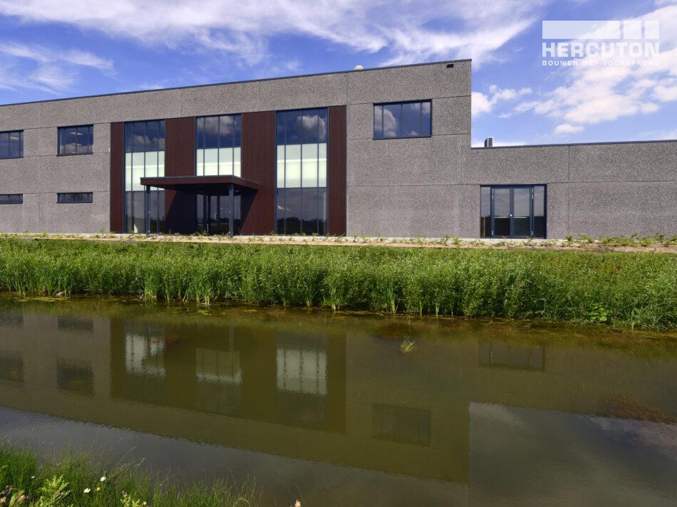 Nieuwbouw Crematorium Hoeksche Waard - Gevel