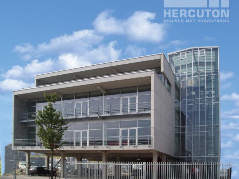 Nieuwbouw vier kantoorruimtes Cruquiuskwartier uitgevoerd in loft architectuur