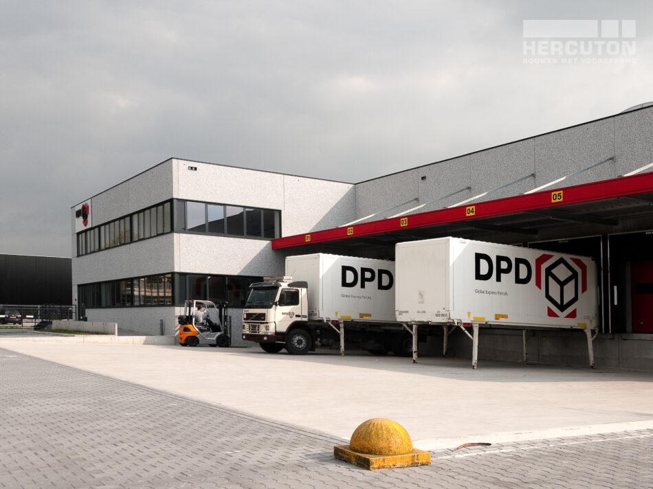 Distributiecentrum in Noord-Brabant wordt gebouwd door Hercuton.