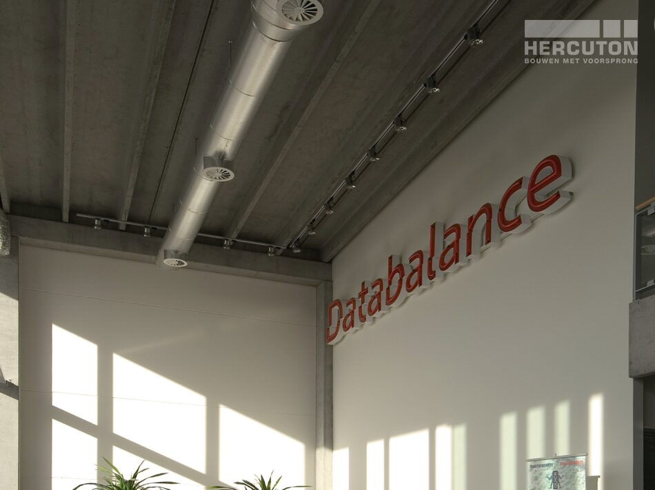 In het bedrijfspand van Databalance vindt dataopslag plaats. - interieur