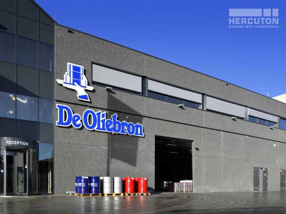 Productie- en opslagruimte met kantoor De Oliebron