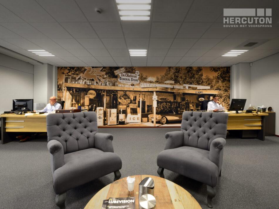 Nieuwbouw productie- en opslagruimte met kantoor De Oliebron, Hercuton b.v. uit Nieuwkuijk