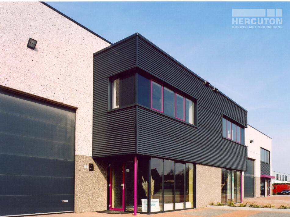 Hercuton heeft in Nieuwkuijk bedrijfsverzamelgebouw Dekkersloop gerealiseerd.