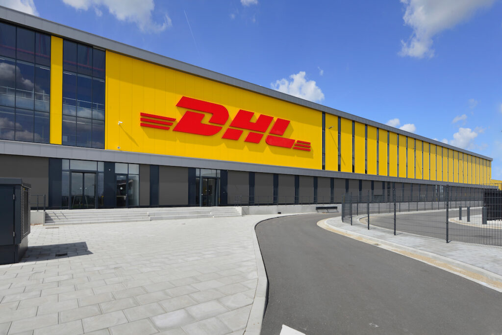 ZALTBOMMEL - DHL all-electric sorteercentrum gerealiseerd door Hercuton