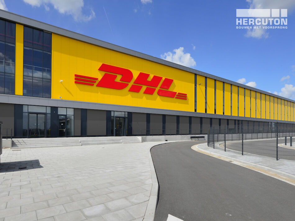 ZALTBOMMEL - DHL all-electric sorteercentrum gerealiseerd door Hercuton