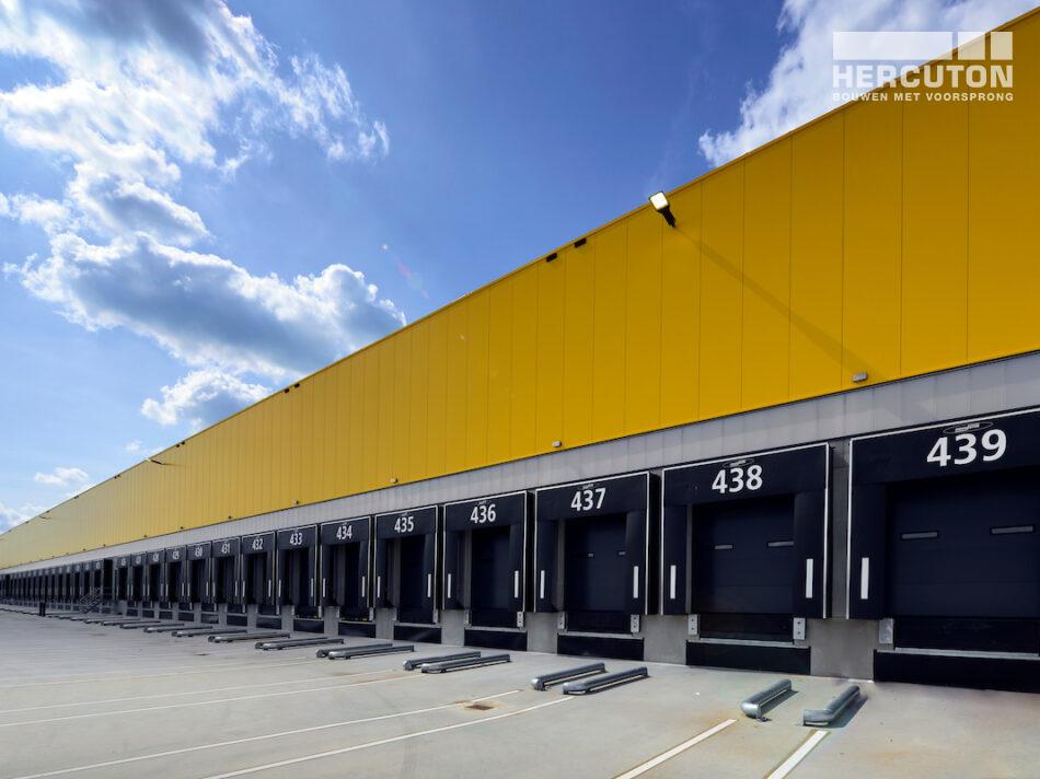 DHL all-electric sorteercentrum gerealiseerd door Hercuton uit Nieuwkuijk