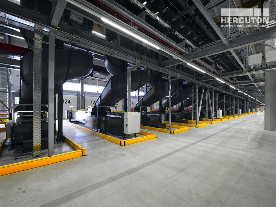 All-electric sorteercentrum DHL in Zaltbommel grootste e-commerce sorteercentrum van Nederland