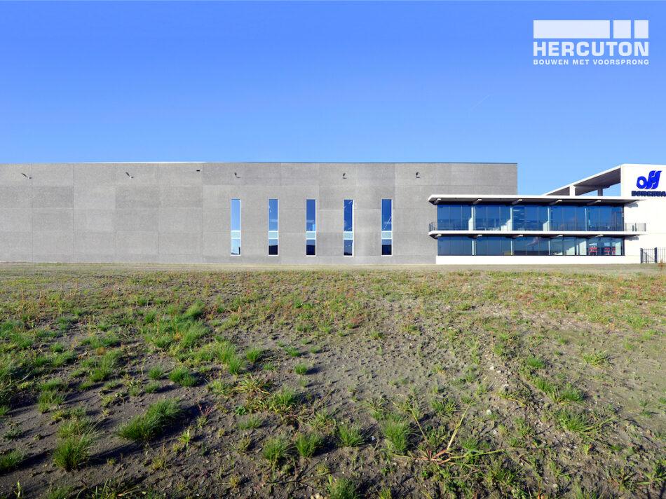 Hercuton realiseert nieuwbouw bedrijfspand met kantoor Donghua International