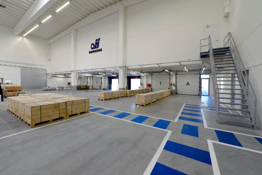 Hercuton realiseert nieuwbouw Donghua International