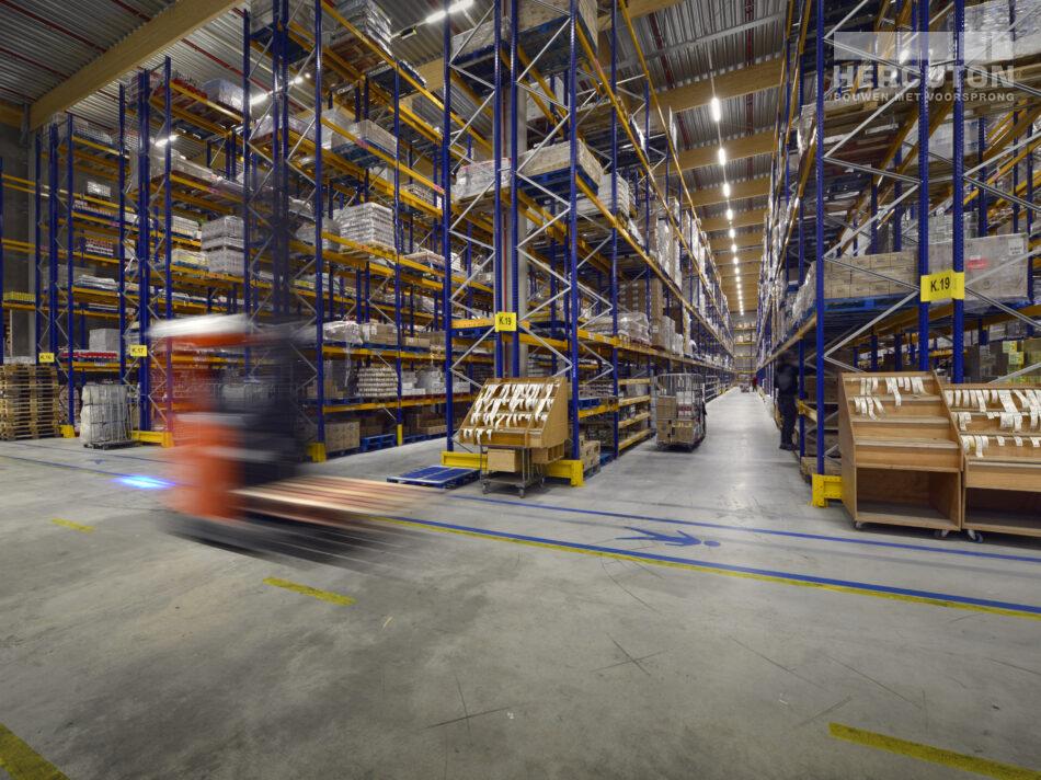 Nieuwbouw distributiecentrum Dordtse Kil III