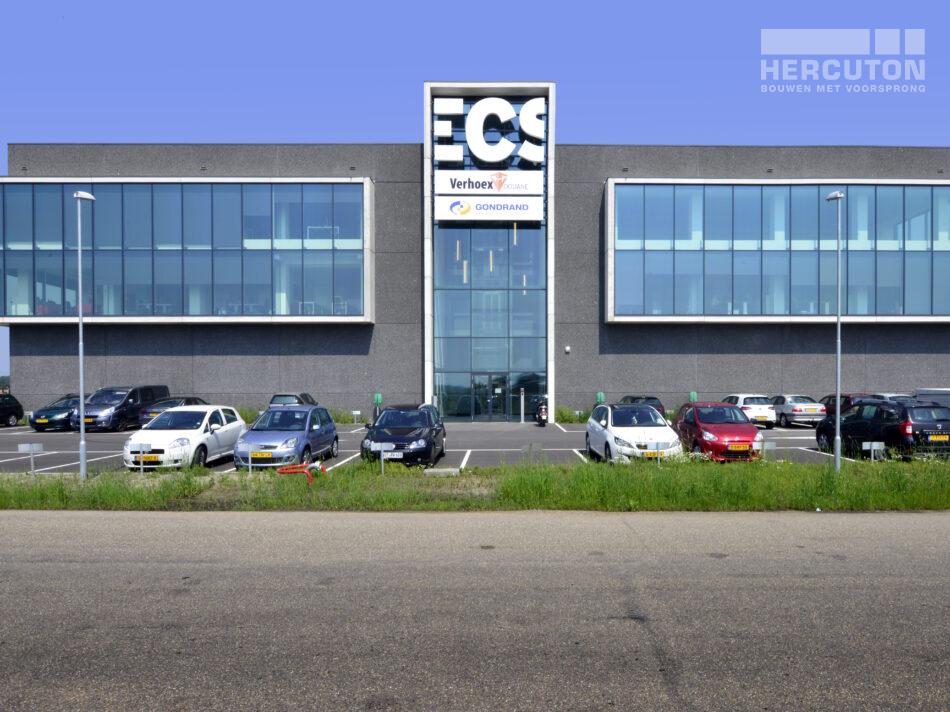 Turn-key nieuwbouw bedrijfspand ECS Venlo - Entree