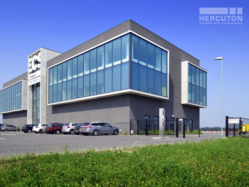 Turn-key nieuwbouw bedrijfspand ECS Venlo