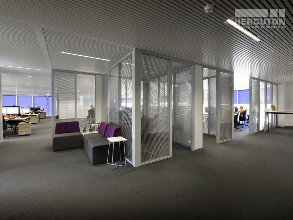 Turn-key nieuwbouw bedrijfspand ECS Venlo - kantoorruimte