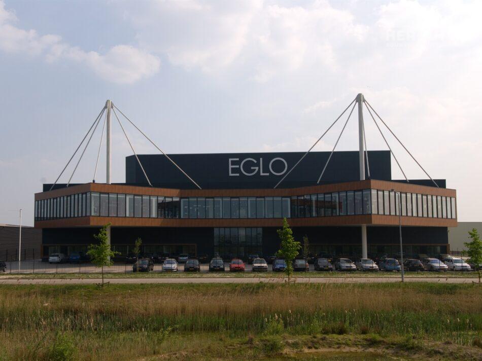 Hercuton heeft het bedrijfspand van EGLO in Oosterhout gerealiseerd.