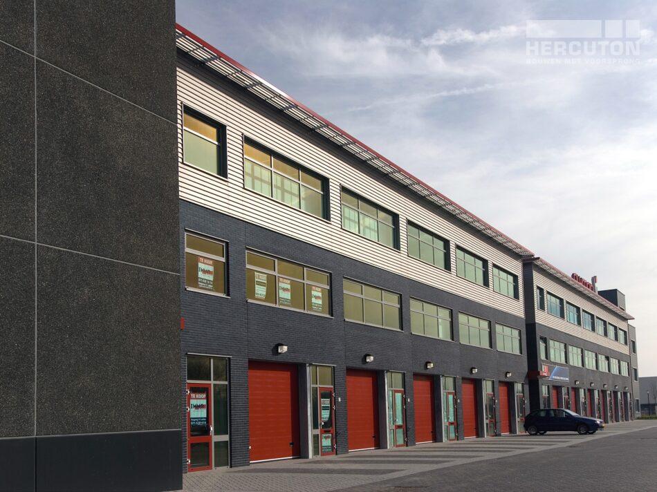 Naast verschillende kantoorunits bevat bedrijfsverzamelgebouw Eurobox in Noordwijk ook opslagruimte en een fitnesscentrum.