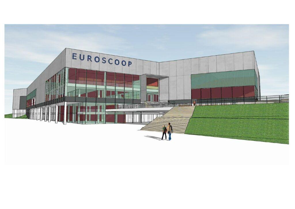 Euroscoop Den Haag Artist Impression