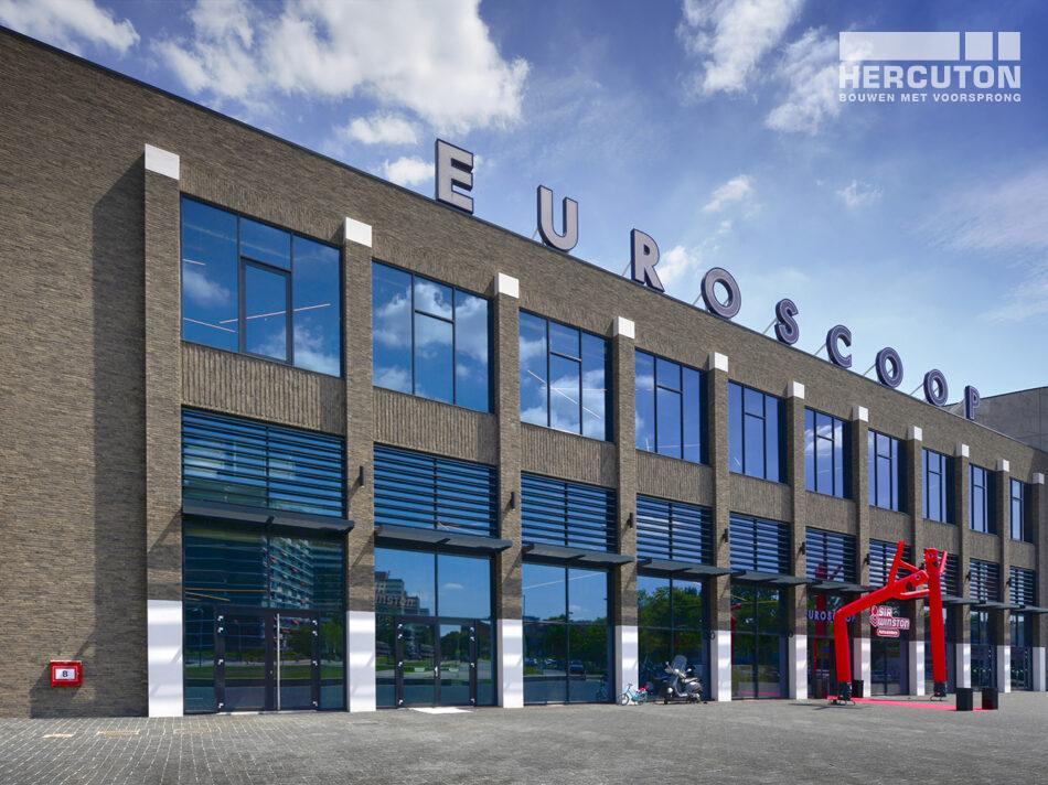 Nieuwbouw Euroscoop Cinema- & Leisurecomplex Amsterdam-Noord in aanbouw 10
